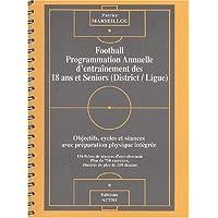 Football - Programmation annuelle d'entrainement des 18 ans et seniors