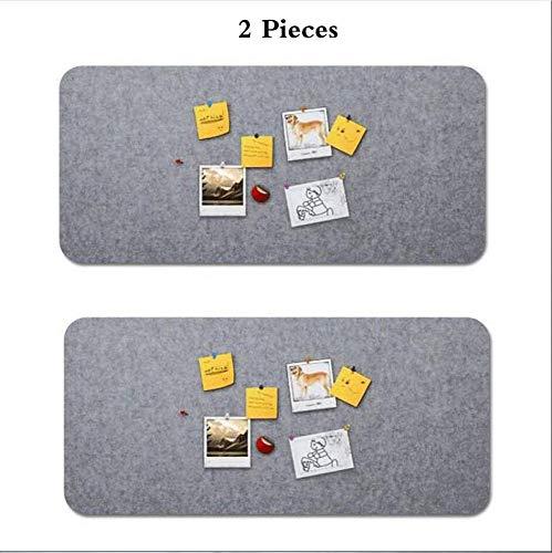 dududrz Memo Board in Feltro Rettangolari 60x120 Cm Kit Fissaggio Lavagna Decorativa Casa Ufficio...
