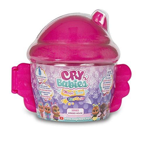 Imc Toys- Cry Babies Magic Tears Casetta Alata, Multicolore,