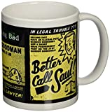 "Pyramid International - Tazza in ceramica con scritta ""Better Call Saul"", per appassionati della serie Breaking Bad"