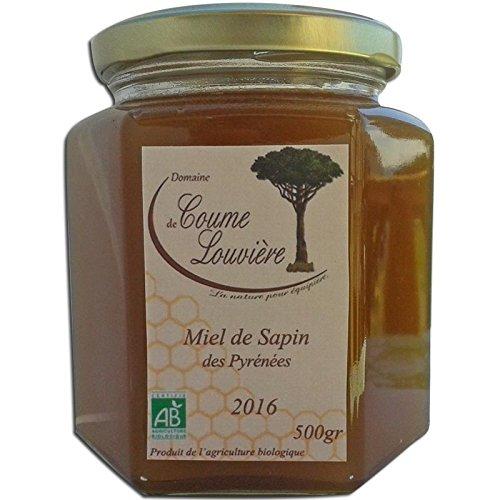 Domaine De Coume Louviere - Miel de sapin Bio des Pyrénées 250 g