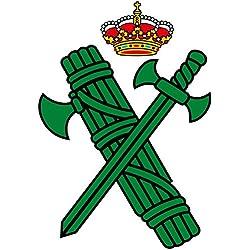 Artimagen Pegatina Logotipo Guardia Civil 40x60 mm.