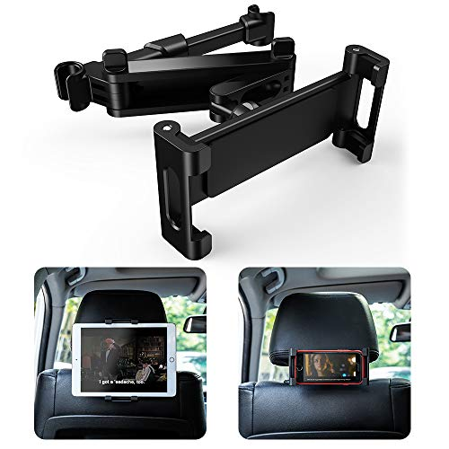 Warxin Supporto Tablet Auto, Supporto Poggiatesta per Auto Universale Porta Tablet Regolabili...