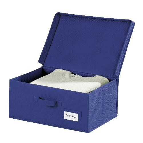 WENKO 4260060100 Scatola per archiviazione Air L in tessuto traspirante, 44 x 19 x 33 cm, colore:...