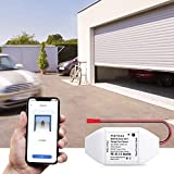 Meross Smart Garage Door Remote Control Add-On to Existing Garage Opener Compatible with Amazon Alexa Google Home IFTTT, Smartphone Remote Control