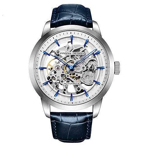 Orologio da Uomo Pagani Design Automatico Con Meccanismo Di Scheletro trasparente-orologio da polso...