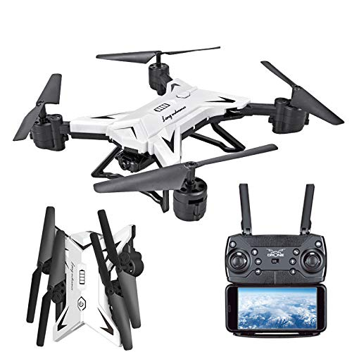 Andouy Drone con Telecamera, Batteria Pieghevole Drone con WiFi FPV HD 10800P App Mobile Controllo...