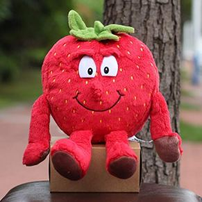 Stuffed & Plush Plants . - Kawaii Cartoon Plush Dolls Toys Vegetables& Fruits Stuffed Dolls Children's Gift Pineapple…