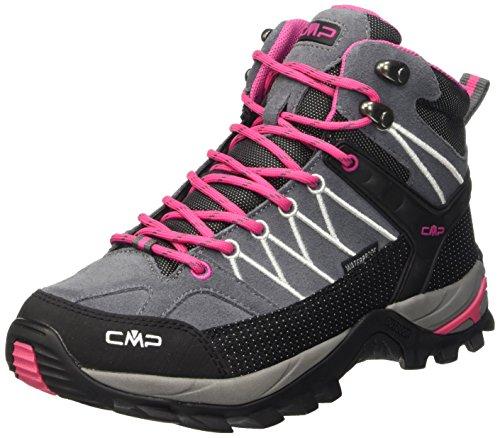 CMP - Rigel, Scarpe sportive - camminata donna, color Grigio (Grey-Fuxia-Ice 103Q), talla 41