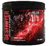 Killer Labz Destroyer Hardcore Pre-Workout Booster Blue Razz 270g