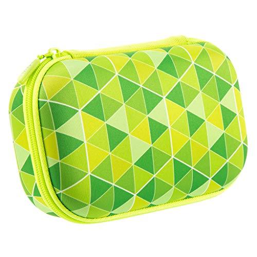 ZIPIT Colorz Box Astuccio Per Matite, Portapenne, Contenitore, Verde