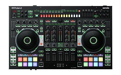 Roland DJ-808-DJ controller con integrato drum machine e mixer a 4canali