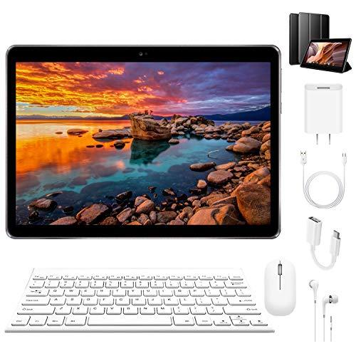4G Tablet 10.1 Pollici con Wifi Offerte 3GB RAM + 64GB, 128 GB Espandibili, Portatile Tablet PC...