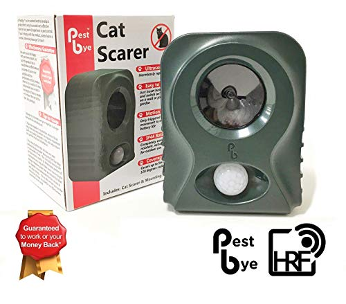 The Pestbye Sonic Cat Repeller we researched comes in a twin pack for effective coverage but you can also get it as a single repeller for smaller gardens.