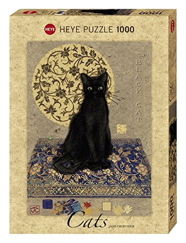 Heye Puzzle Crowther Black Cat, 1000 Pezzi, VD-29719