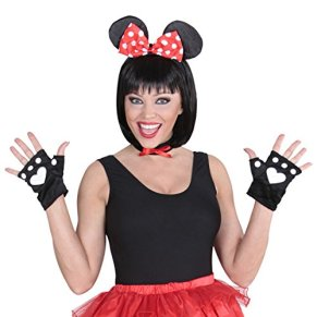 Disney Minnie Mouse Costume Set of 3 Pieces, Animal Costume, for Women, for Carnival, Theme Party