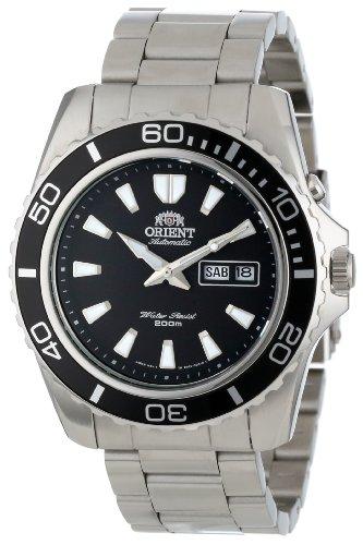 Orient Mako Herren-Armbanduhr 44.5mm Armband Edelstahl Automatik FEM75001BW