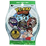Yokai Watch - B5944 - Sachet Mystere de 3 Médailles - Serie 1 ou Serie 2