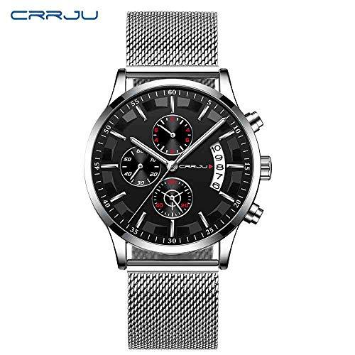 SWJM Uhren Herrenmode Persönlichkeit Reloj Armbanduhr Relogio Quarz Hochwertige Uhr Mit Kalender,G