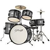 Stagg TIM JR 5/16 BK 5 Piece Junior Drum Kit, Black