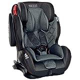 LCP Kids GT Comfort Auto Kindersitz 9-36 kg Isofix Liegefunktion SPS Seitenschutz Schwarz