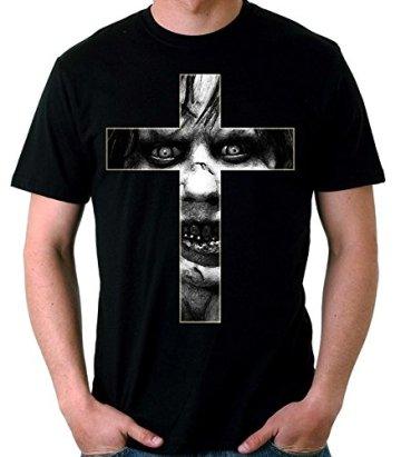 35mm - Camiseta Hombre The Exorcist- El Exorcista Cruz 3