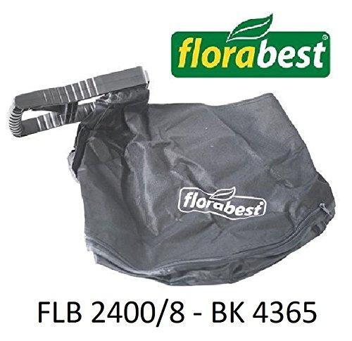 Florabest Sacco di Racolta con Supporto per Aspirafoglie FLB 2400/8 BK 4365