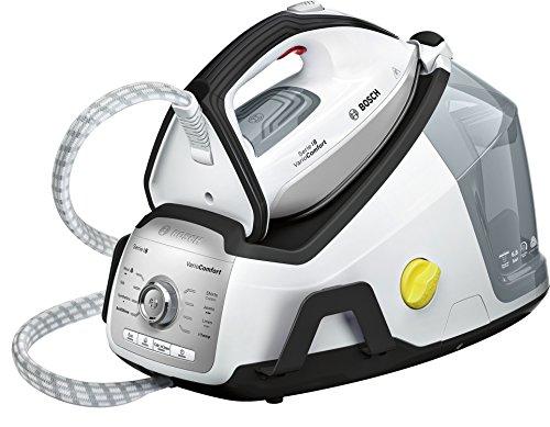 Bosch Serie 8 TDS8030 2400W 1.8L Ceranium Nero, Bianco ferro da stiro a caldaia