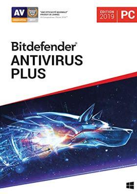 Bitdefender Antivirus Plus 2019 | Standard | 3 PC appareil | 1 An | PC | Code d'activation PC - envoi par email