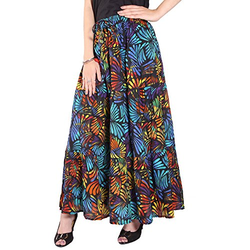 COTTON BREEZE Women's Cotton Long Skirt (FP362)