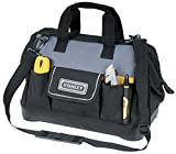STANLEY 1-96-183 - Bolsa para herramientas de gran abertura con cremallera, 44.7 x 27.5 x 23.5...