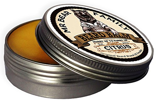 Baume Barbe Mr Bear Family Citrus Beard Balm