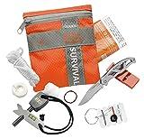 Gerber Survival Kit, Outdoor Notfall-Set, Bear Grylls Basic, 31-000700