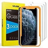 SPARIN [3 Pezzi] Vetro Temperato Compatibile con iPhone 11 Pro Max / XS Max, Pellicola Vetro Temperato iPhone XS Max con [Strumento di Installazione Facile] [Caso Amichevole] [HD Chiaro]
