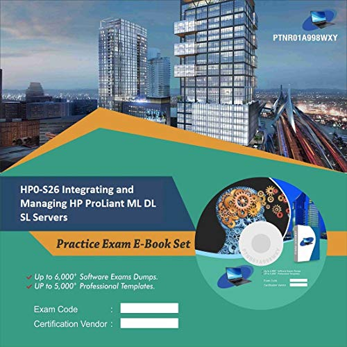 HP0-S26 Integrating and Managing HP ProLiant ML DL SL Servers Online Certification Video Learning Success Bundle (DVD)