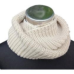 Cuello cálido Bufanda, Infinity Grueso