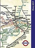 London Underground Desk Diary, 2019 [Lingua Inglese]