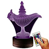 Aladin Dekolampe The Lamp (3D-Hologramm Illusion)