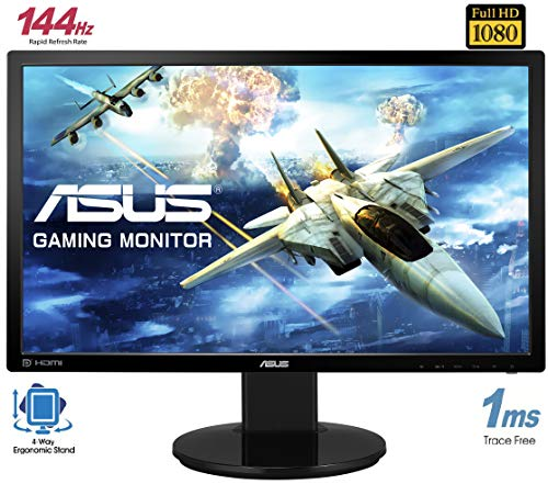ASUS VG248QE - Ecran PC gaming eSport 24'' FHD - Dalle TN - 16:9 - 144Hz - 1ms - 1920x1080 - 350cd/m² - DP, HDMI et DVI - Haut-parleurs - Nv... 28