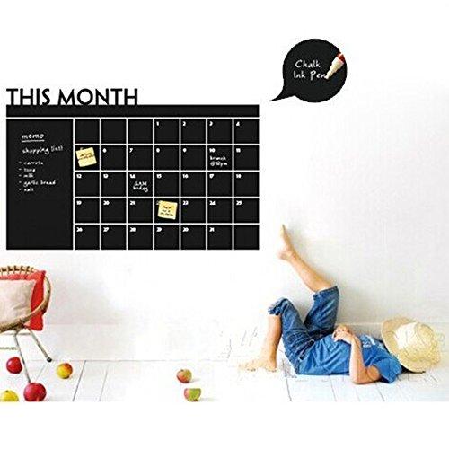 Questo mese Calendario lavagna adesivi murali