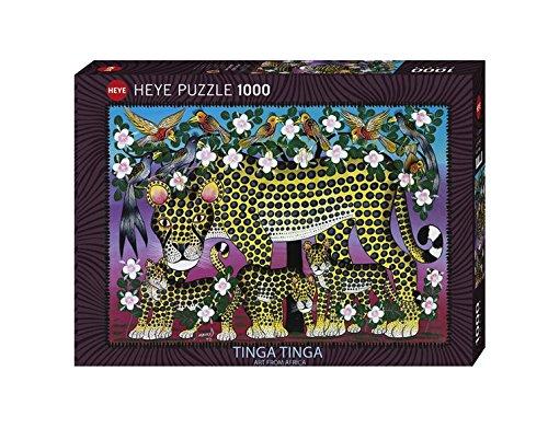 K & V 50769 Tinga Wildcat Family, Puzzle, 1000 Pezzi