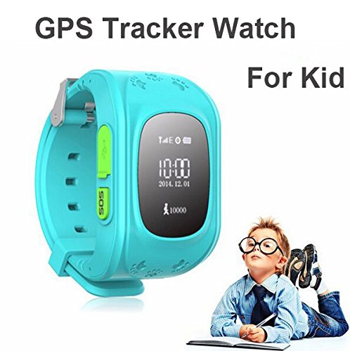 Wayona Smart Tracker Wrist Watch with GPS & GSM System for Kids- Blue