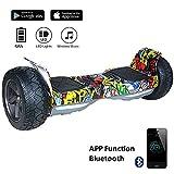 """EVERCROSS Challenger Basic 8,5"""" Hoverboard SUV APP Elektro Scooter E-Balance E-Skateboard Elektroroller (Hip-hop)"""