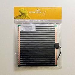 Manta termica calor para animales y reptiles 15W de 27 x 27cm