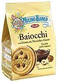 Mulino Bianco Biscotti Baiocchi Nocciola, Colazione Ricca di Gusto - 260 gr