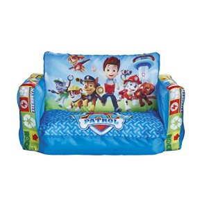 Worlds Apart Mini sofá y Tumbona desplegable 2 en 1, Poliéster, Azul, 26.00x68.00x105.00 cm