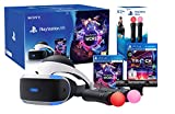 "Playstation VR ""Starter Music Pack"" + VR Worlds + Track-Lab + Camera V2 + Paire Twin Move Controllers"