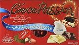 Crispo Confetti Cioco Passion Cioccolato al Latte con Cuore di Cioccolato Bianco - Colore Rosso - 3 confezioni da 1 kg [3 kg]