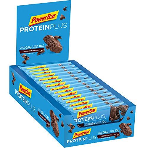 PowerBar Protein Plus Low Sugar Barre Protéinée Faible en Sucre Chocolat Brownie 30 x 35 g 5