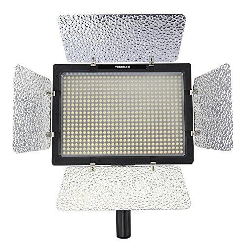 YONGNUO yn 600 luce di pannello video 5500k temperatura di colore con telecomando per dv reflex